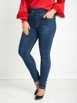 Niebieskie jeansy plus size Priority                                  zdj.                                  1