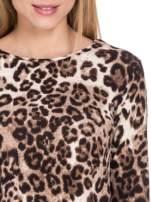 Panterkowy klasyczny sweterek                                  zdj.                                  5