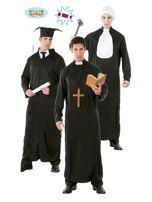 Przebranie dla dorosłych Student Ksiądz Sędzia                                  zdj.                                  1