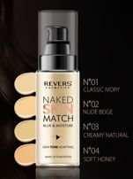 REVERS Fluid NAKED SKIN MATCH NR 02 NUDE BEIGE, 30 ml                                  zdj.                                  3
