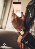 RONEBERG Smartwatch RX6 Współpracuje z Android oraz iOS Powiadomienia Połączenia Krokomierz Monitor snu Biały                                  zdj.                                  5