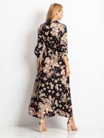RUE PARIS Czarno-brązowa sukienka Temple                                  zdj.                                  2