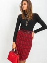 RUE PARIS Czerwono-czarna spódnica Diaz                                  zdj.                                  5