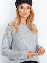 RUE PARIS Szary sweter Tiffany                                  zdj.                                  5