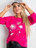 Różowa bluzka plus size Dreamer                                  zdj.                                  5