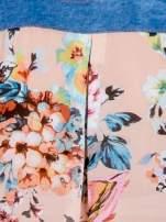 Różowa koszula z kwiatowym motywem                                  zdj.                                  5