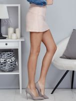 Różowa spódnica damska o kroju trapezu                                  zdj.                                  5