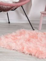Różowy futrzany dywan                                  zdj.                                  2