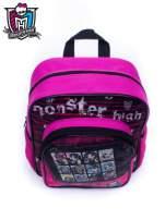 Różowy plecak dla dziewczynki DISNEY Monster High