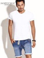 SCOTFREE Niebieskie jeansowe szorty męskie                                  zdj.                                  9