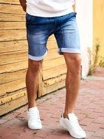 SCOTFREE Niebieskie jeansowe szorty męskie                                  zdj.                                  1