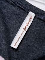 STRADIVARIUS Różowy t-shirt z nadrukiem UPPER EAST SIDE