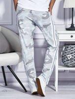 Spodnie dresowe deseń moro szare                                  zdj.                                  2