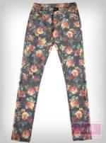 Spodnie w kwiaty                                  zdj.                                  2
