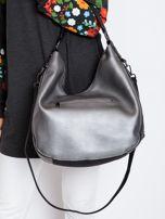 Srebrna torba z suwakami                                  zdj.                                  2