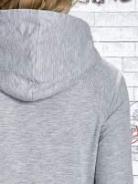 Szara bluza z nadrukiem liści i napisem AUTUMN LEAFS                                  zdj.                                  8