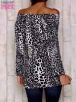 Szara bluzka motyw panterki