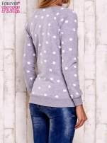 Szaro-biała bluza z nadrukiem jabłuszka                                                                          zdj.                                                                         5