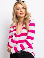 Szaro-różowa bluzka Ava                                  zdj.                                  1