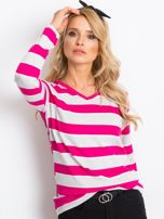 Szaro-różowa bluzka Ava                                  zdj.                                  5