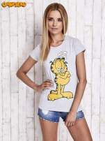 Szary t-shirt GARFIELD                                  zdj.                                  3
