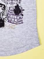 Szary t-shirt dla dziewczynki z nadrukiem EVER AFTER HIGH