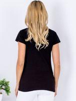 T-shirt czarny NA KAWĘ SIĘ NIE UMAWIAM                                  zdj.                                  2