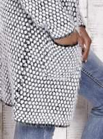 TOM TAILOR Biały wełniany puszysty sweter                                                                          zdj.                                                                         7