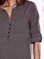 TOM TAILOR Bordowa koszula w drobne wzory                                  zdj.                                  7