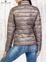 TOM TAILOR Brązowy dwuczęściowy płaszcz z kurtką pikowaną                                                                          zdj.                                                                         12