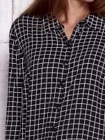 TOM TAILOR Czarna koszula w kratkę