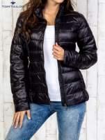 TOM TAILOR Czarny dwuczęściowy płaszcz z kurtką pikowaną                                                                          zdj.                                                                         8