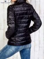 TOM TAILOR Czarny dwuczęściowy płaszcz z kurtką pikowaną                                  zdj.                                  11
