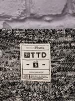 TOM TAILOR Czarny melanżowy sweter                                   zdj.                                  4