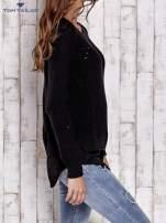 TOM TAILOR Czarny sweter z koszulą                                  zdj.                                  3
