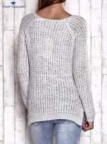 TOM TAILOR Różowy ażurowy sweter                                                                          zdj.                                                                         5