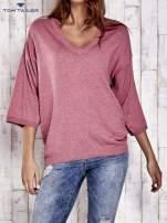TOM TAILOR Koralowy sweter z satynowym tyłem                                  zdj.                                  1