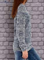 TOM TAILOR Niebieski melanżowy sweter                                   zdj.                                  2