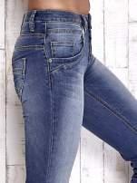 TOM TAILOR Niebieskie przecierane spodnie boyfriend jeans                                   zdj.                                  5