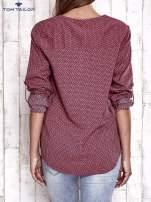 TOM TAILOR Różowa koszula w drobne wzory                                                                          zdj.                                                                         5