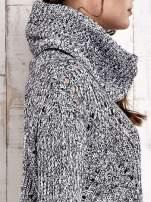 TOM TAILOR Szary melanżowy sweter z golfem                                                                          zdj.                                                                         9