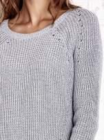 TOM TAILOR Zielony sweter z koszulą                                                                          zdj.                                                                         7