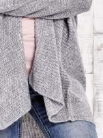 TOM TAILOR Szary wełniany sweter oversize