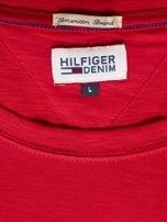 TOMMY HILFIGER Czerwony t-shirt męski                                   zdj.                                  6