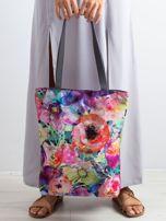 Torba na ramię w kolorowe kwiaty                                  zdj.                                  3