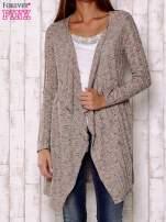Wielokolorowy sweter z otwartym dekoltem                                  zdj.                                  1