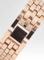Zegarek damski na bransolecie z różowego złota                                  zdj.                                  4