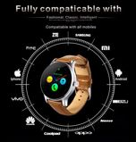 Zegarek smartwatch K88H brązowy Pulsometr Wodoodporny Siri                                  zdj.                                  17