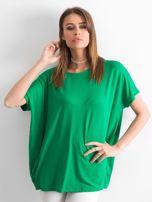 Zielona bluzka Oversize                                  zdj.                                  1