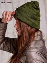 Zielona czapka moro z ćwiekami FUNK N SOUL                                  zdj.                                  4